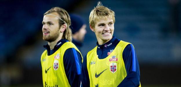 Martin Odegaard jugará dos años cedido en la Real Sociedad