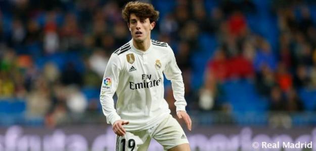 Odriozola tiene una vía de escape del Real Madrid / RealMadrid.com