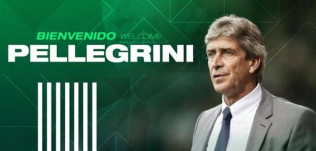 Oficial Manuel Pellegrini entrenará al Betis / RealBetisBalompie.es