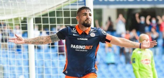 Andy Delort, nuevo jugador del Nice