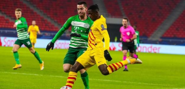 Ousmane Dembélé vuelve a ilusionar   FOTO: FC BARCELONA