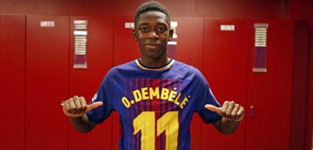 Ousmane Dembélé. Foto: FCBarcelona.es
