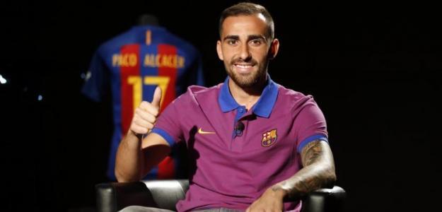 Paco Alcácer. Foto: FCBarcelona.es