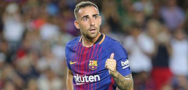 Paco Alcácer, en su etapa en el FC Barcelona / FCB.