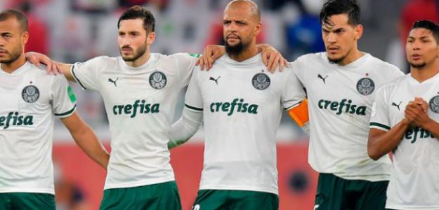 """Palmeiras y la decepción del 2021 """"Foto: Record"""""""