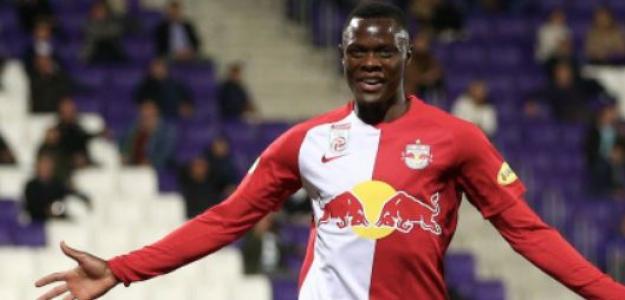 """Patson Daka es nuevo jugador del Leicester """"Foto: Transfermarkt"""""""