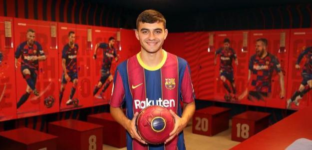 Pedri, el jugador Nº12 de Koeman. Foto: eldesmarque.com