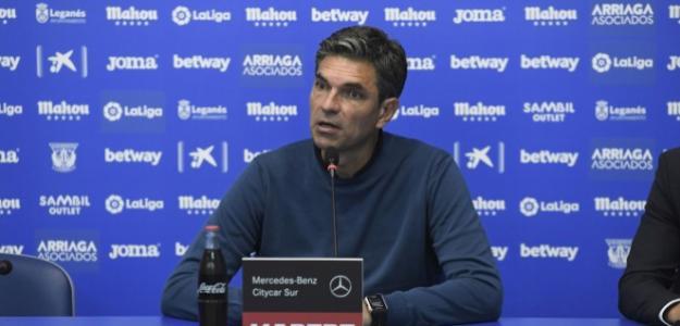 Mauricio Pellegrino durante una rueda de prensa / CD Leganés