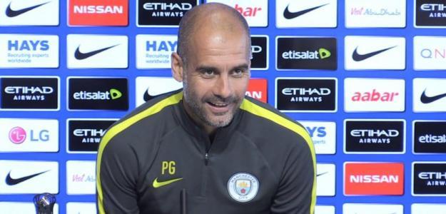 Pep Guardiola, entrenador del Manchester City. Foto: Youtube.com