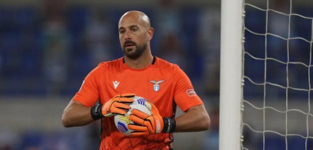 Pepe Reina busca la renovación con la Lazio. Foto: cittaceleste.it