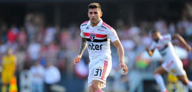 Liziero en un partido con Sao Paulo. / gazetaesportiva.com