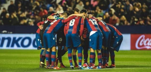Levante UD antes de un partido / Foto del club