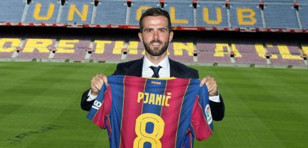 Pjanic se atasca en el Barcelona / FCBarcelona.es