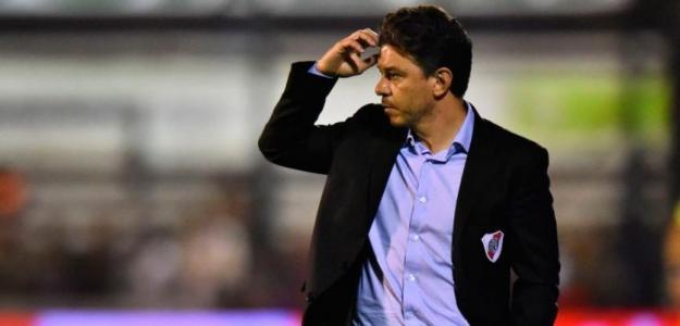 Marcelo Gallardo durante un partido de River. / fcbarcelonanoticias.com