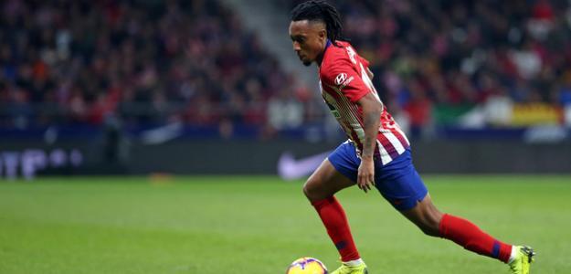 Gelson Martins, durante un partido (Atlético de Madrid)