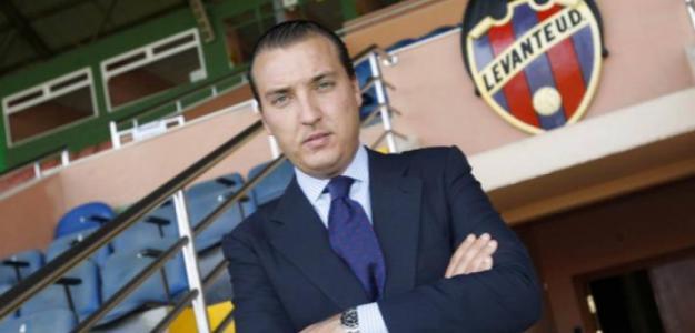 Quico Catalán, presidente del Levante. Foto: Levanteud.com