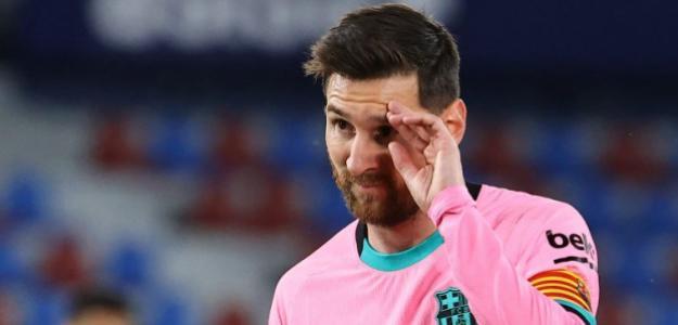 ¿Así quiere el Barcelona retener a Messi?