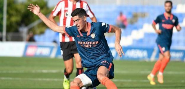 Carlos Fernández cerca de la Real Sociedad. Foto: Estadio Deportivo