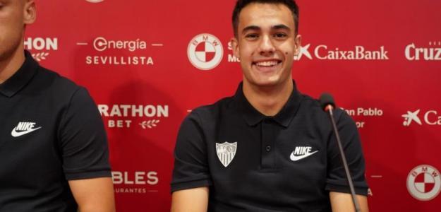 Reguilón quiere regresar al Real Madrid / Sevillafc.es