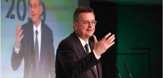 Reinhard Grinde, presidente de la federación alemana. Foto: Youtube.com
