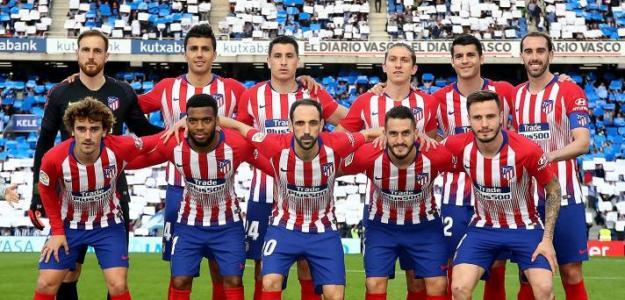 Jugadores del Atlético de Madrid / Facebook.