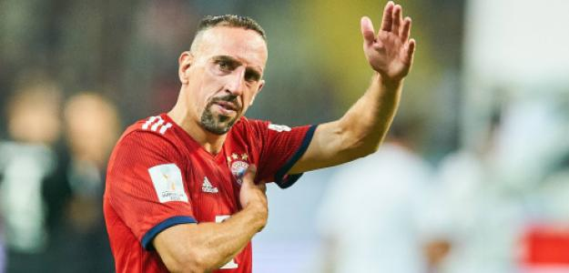 Ribéry maneja una oferta de Italia y otra de Rusia. Foto: AP