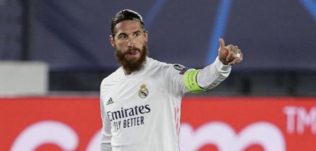 Sergio Ramos y un ridículo histórico en el Real Madrid