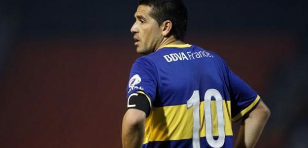 Riquelme en un partido con Boca. / articulo.mercadolibre.com.ar