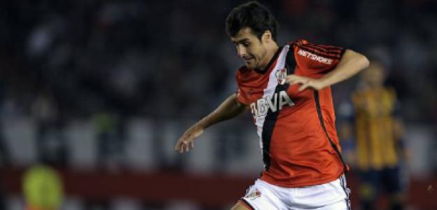 """""""Los tres mejores canteranos de la historia de River Plate. Foto: Getty Images"""""""