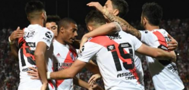 "Otra posibilidad europea para la delantera de River Plate ""Foto: TNT Sports"""