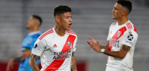 """Una salida confirmada de River Plate """"Foto: Olé"""""""
