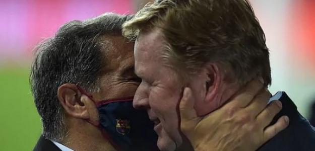 """Ronald Koeman carga contra Joan Laporta y su relación en el FC Barcelona """"Foto: El Mundo"""""""