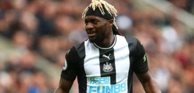 """El Newcastle cierra la renovación de Allan Saint-Maximin """"Foto: TeamTalk"""""""