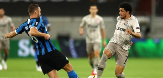 El Inter 'pisó' al Shakhtar en la Europa League