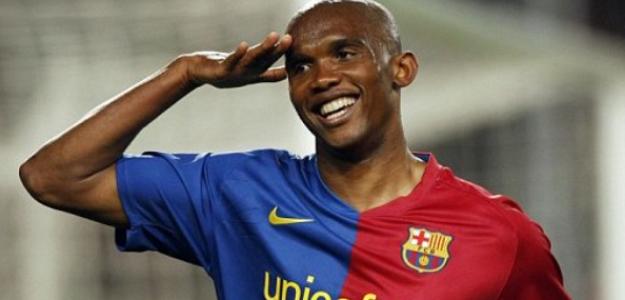 """Eto'o señala al que será el sucesor de Messi en el FC Barcelona """"Foto: Mundo Deportivo"""""""