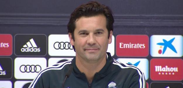 Santiago Solari en rueda de prensa. Foto: Youtube.com