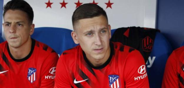 El preocupante caso de Saponjic en el Atlético de Madrid