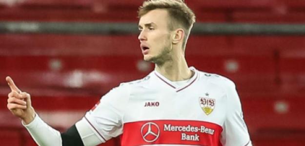 """La perla del Stuttgart que quieren en media Europa: Sasa Kalajdzic, el próximo Haaland """"Foto: Goal.com"""""""