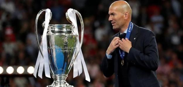 Zinedine Zidane, en la final de la Champions League / Bein Sports.