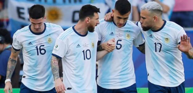 """El once que podría formar Argentina para sus próximos compromisos """"Foto: AFA"""""""