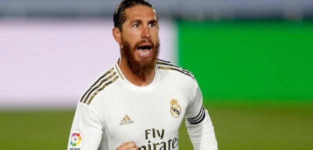 """El Real Madrid se estampa siempre que no está Sergio Ramos """"Foto: Marca"""""""