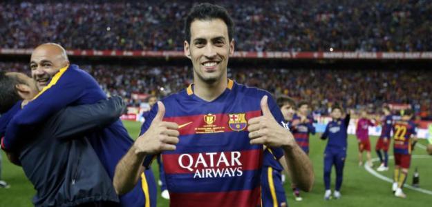 Sergio Busquets con la camiseta del FC Barcelona. Foto: FCBarcelona.es