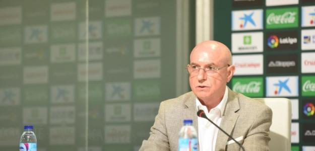 Lorenzo Serra Ferrer, director deportivo del Real Betis B. / Real Betis