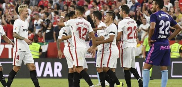 Sevilla, celebrando un gol / twitter