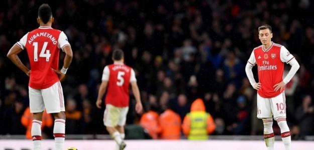Jugadores del Arsenal durante un partido. / apuestas.betfair.es