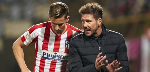 Simeone le confía el puesto de delantero a Marcos Llorente / Cadenaser.com