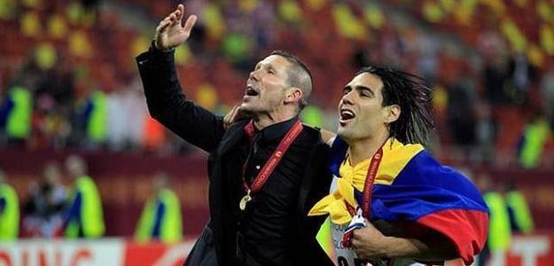 Simeone rechazó la vuelta de Falcao / ABC.es