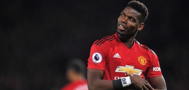 Paul Pogba celebra un gol / Youtube