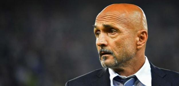 Spalletti en un partido con el Inter / Sky