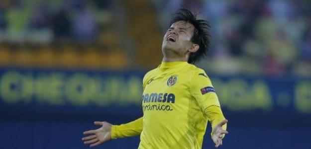 Nuevo revés para Kubo en el Villarreal. Foto: elgoldigital.com